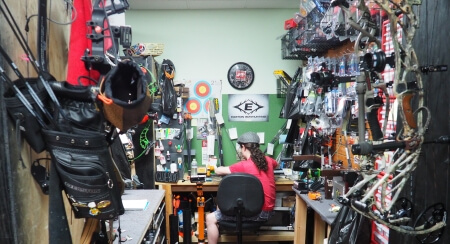 Full Service Archery Shop serving the Las Vegas Valley Henderson Summerlin